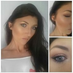 Make up done on myself for a night out..  #freelance #makeupartist #loreal #maybelline #makeupforever #thebalm #milani #urbandecay #anastasiabeverlyhills #rimmel #essence #mac