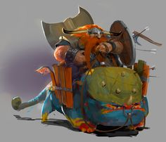 Dragon Rider, Björn Hurri. This may not be intended as a dwarf, but that's what I see. - syzygy