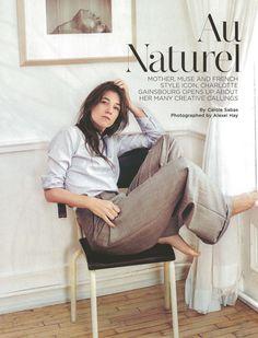 Charlotte Gainsbourg in C magazine