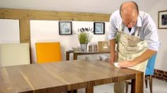 How to re-polish your Berrydesign Dining Table. www.berrydesign.co.uk