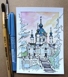 Small size drawings - Julia Porkhun