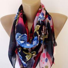 trendscarf women scarf scarves shawl scarf  cowl scarf  by seno, $19.00