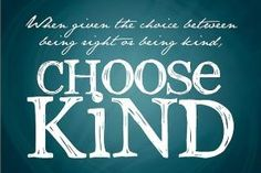 Choose Kind: Free Printable (Quote from Wonder by RJ Palacio) by lea