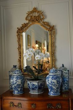 Blue and White Decor Ideas . 24 Best Of Blue and White Decor Ideas . Interior Design Ideas Home Bunch Interior Design Ideas Cottage Living Rooms, Living Room Grey, Blue And White China, Blue China, Navy Blue, Dark Curtains, Keramik Vase, Enchanted Home, Chinoiserie Chic