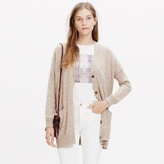 Madewell - Long Cardigan Sweater