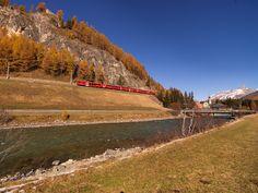 Madulain, Engadin, Graubünden, Schweiz