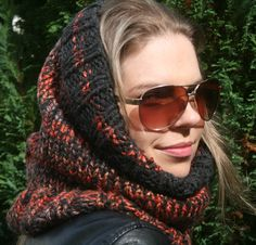 A personal favourite from my Etsy shop https://www.etsy.com/uk/listing/535653470/snood-infinity-scarf-chunky-cowl-head