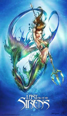 Mermaid: Last Call of the Sirens by jamietyndall.deviantart.com on @deviantART