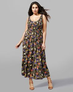 plus-size-addition-elle-Michel-Studio-Smocked-Printed-Maxi-Dress-with-suggested-under-garments