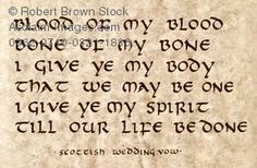 Stock Photo of a Scottish Wedding Vow – Best Wedding Ceremony Ideas Wiccan Wedding, Celtic Wedding, Wedding Vows, Our Wedding, Dream Wedding, Forest Wedding, Wedding Themes, Wedding Stuff, Wedding Flowers