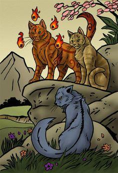 I Think Cinderpelt Hates Sandstorm - Warrior Cats World Fan Art ...