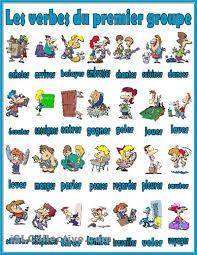 Resultado de imagen para verbos en francés