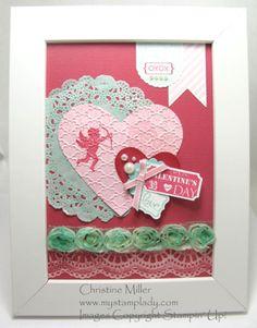 Hearts A Flutter Framed Art