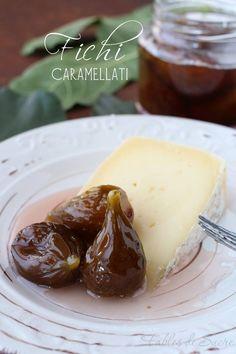 Fichi caramellati Wine Recipes, Cooking Recipes, Good Food, Yummy Food, Romanian Food, Beautiful Fruits, Fruit And Veg, Antipasto, Chutney