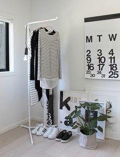 3 tips voor een stylish vervanger van 'de kleding-stoel' in de slaapkamer - Roomed
