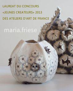 création textile - Maria Friese - felt design | actualités