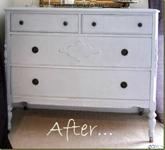 Dresser Paris Gray