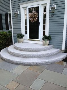 Genuinely looking towards trying this one. Landscaping Ideas for Front Yard Genuinely looking towards trying this one. Landscaping Ideas for Front Yard Patio Steps, Outdoor Steps, Concrete Steps, Concrete Patio, Front Yard Landscaping, Backyard Patio, Landscaping Ideas, Outdoor Landscaping, Mobile Home Landscaping