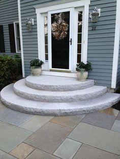Best Half Moon Steps Patio Steps Porch Steps Front Door Steps 640 x 480