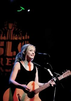 Emily Kinney performing at SLO Brewing Company in San Luis Obispo on June 18th 2015