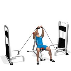 INCLINE BENCH CABLE FLYES INVOLVED MUSCLES DURING THE TRAINING CHEST