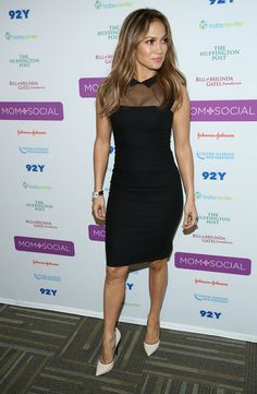 Jennifer Lopez In L'Wren Scott – United Nations Foundation 'Mom + Social' Event
