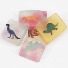 Hands On Crafts for Kids - Dinosaur Soaps