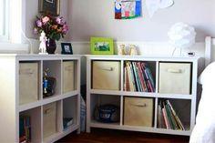New cube storage kids room furniture plans Ideas Bookshelf Storage, Cube Bookcase, Cube Shelves, Kids Storage, Cube Storage, Bookshelves, Shelving, Storage Ideas, Kitchen Storage