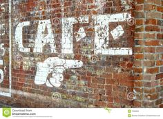 Brick Wall In Downtown Ft. Smith Royalty Free Stock Photo - Image ...