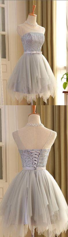 Prom dress #shortpromdresses