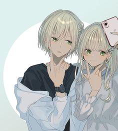 Anime Amor, Anime Cupples, Gato Anime, Anime Girl Neko, Cool Anime Girl, Cute Anime Pics, Chica Anime Manga, Anime Angel, Anime Art Girl
