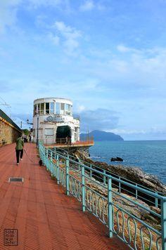 Il Porticciolo e la Passeggiata Anita Garibaldi a Nervi – Genova #nervi #genova #sea #mare #liguria #italy #town