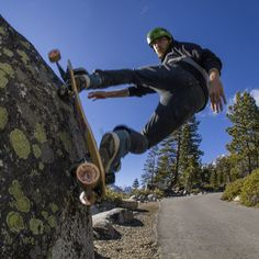 Natural Features are AWESOME. #Wallride #freebord #DRC #dirk #haightprivilege #entitlementurethane #crystals #energy #chakras #weekend #life #nature #payday #Motivation #practice #lifegoals #snowboarding