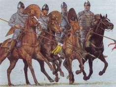 Norman Crusaders following Bohemond of Taranto