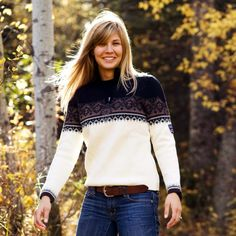Dale of Norway Womens St. Moritz Pullover Sweater love these sweaters. Do I splurge ...I wish I never saw them lol
