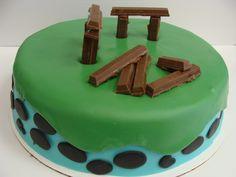 Latest Angry Bird cake. Used Angry Bird Cake Pops.