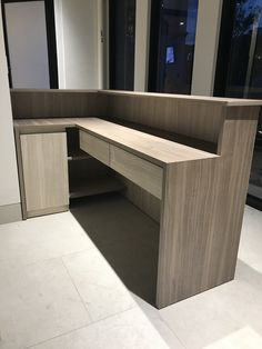 Office Counter Design, Office Reception Design, Office Table Design, Home Office Design, Dental Office Decor, Dental Office Design, Clothing Store Interior, Showroom Interior Design, Reception Furniture