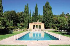The pool at Domaine de la Baume, Provence. http://en.domaine-delabaume.com/