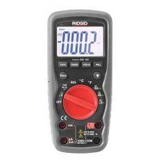 Ridgid Micro Digital Multimeter Drop and Waterproof Digital Multimeter Ac Dc Voltage, Electrical Problems, Temperature Measurement, The 100, Led, Clamp, Hand Tools