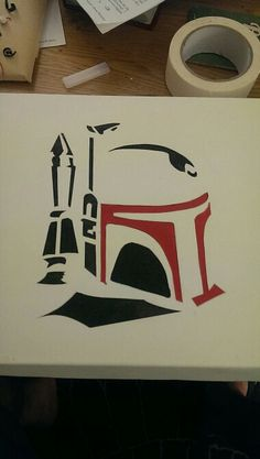 Boba Fett canvas
