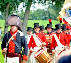 Reenactment of the Battle of Caulk's Field in Kent County, on the 200th anniversary of the fight.