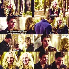 {6x13} This scene was so cute! ☺️❤ . . [#tvd #thevampirediaries #carolineforbes…