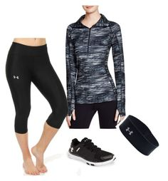 """Under Armour"" by harrystyles-1d-jb-lover ❤ liked on Polyvore featuring Under Armour"