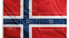 M&C Saatchi Stockholm for Norwegian Airlines. 6 in1 flags...