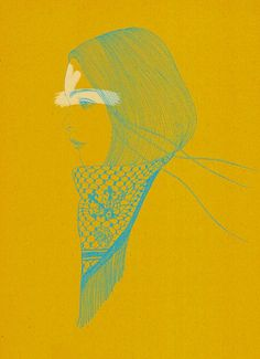 Fashion Illustrations by Hiroshi Tanabe   Cuded