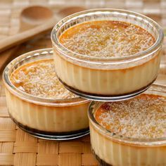 Flan of the islands with the coconut Easy Desserts, Delicious Desserts, Dessert Recipes, Yummy Food, Mini Cakes, Cupcake Cakes, Mexican Food Recipes, Sweet Recipes, Love Food