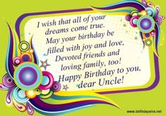 beautiful birthday wishes for uncle – best birthday impressive happy birthday uncle Uncle Birthday Quotes, Birthday Wishes For Uncle, Uncle Quotes, Beautiful Birthday Wishes, Happy Birthday Wishes Quotes, Birthday Cards For Men, Happy Birthday Massage, Happy Birthday Fun, Happy Birthday Images
