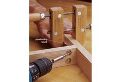 Try this method for securing joints without buying an expensive jig.