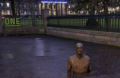 Sunken Statue at Gallery of Modern Art