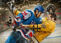 Images for Hockey Club SKA by SpecialOne , via Behance